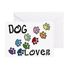 Dog Lover Greeting Card