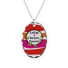 Coffee and Bacteria Particles Necklace