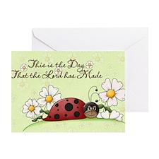 lb_car_flag_713_H_F Greeting Card