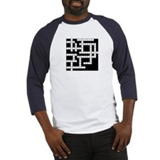 Cute Crosswords Baseball Jersey