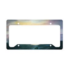 Sunset Over the Dunes License Plate Holder