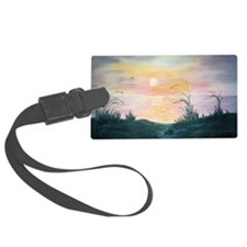 Sunset Over the Dunes Luggage Tag