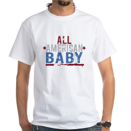 All American Baby White T-Shirt