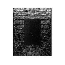 Black Alligator Skin Picture Frame