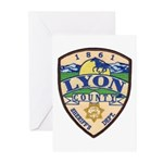 Lyon County Sheriff Greeting Cards (Pk of 10)
