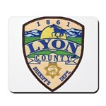 Lyon County Sheriff Mousepad