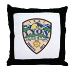 Lyon County Sheriff Throw Pillow