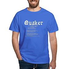 Definition of Quaker T-Shirt