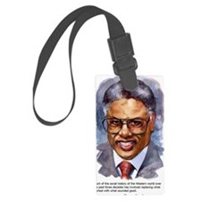 Thomas Sowell Sociology Luggage Tag