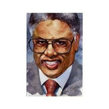 Thomas Sowell Sociology Rectangle Magnet