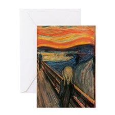 The Scream Greeting Card