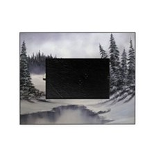 Snowbound Cabin Picture Frame