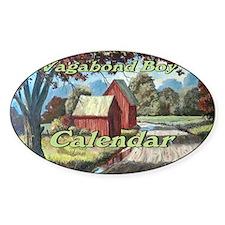 Vagabond Boy Calendar Cover Decal