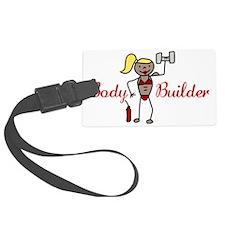Body Builder Luggage Tag