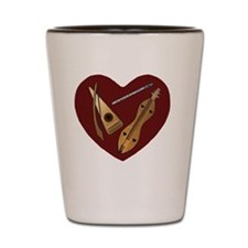 Heart of Music Jewelry Shot Glass