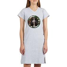 Tricolor Cavalier Women's Nightshirt