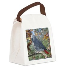 Sunlight on Feathers Canvas Lunch Bag
