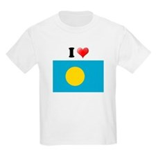 I love Palau Flag T-Shirt