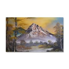 Mountain Sunrise Car Magnet 20 x 12