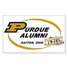 Purdue Alumni Rectangle Decal