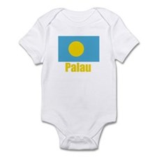 Palau Flag Infant Bodysuit