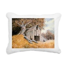 Old Barn Rectangular Canvas Pillow