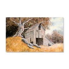 Old Barn Car Magnet 20 x 12