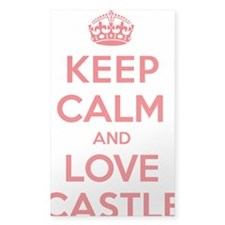 K C Love Castle Decal