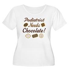 Podiatrist Chocolate Gift T-Shirt
