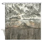Rainier Dusk Shower Curtain