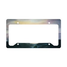 Dune Sunset License Plate Holder