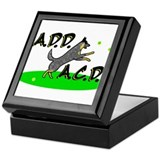 add acd blue Keepsake Box