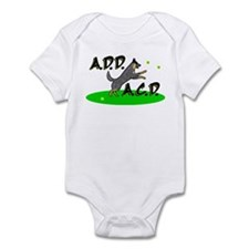add acd blue Infant Bodysuit