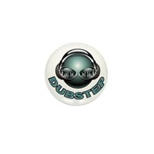 Dubstep Deejay Mini Button