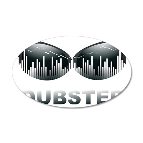Awesome Dubstep 35x21 Oval Wall Decal