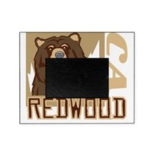 Redwood Grumpy Grizzly Picture Frame
