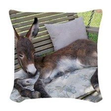 Lazy Ass Woven Throw Pillow