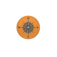 compass-rose5-BUT Mini Button