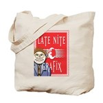 LNG logo & Jack the Late Nite Tote Bag