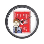 LNG logo & Jack the Late Nite Wall Clock