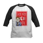 LNG logo & Jack the Late Nite Kids Baseball Jersey