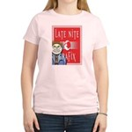 LNG logo & Jack the Late Nite Women's Light T-Shir