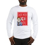 LNG logo & Jack the Late Nite Long Sleeve T-Shirt