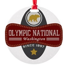 Olympic Natural Marquis Ornament