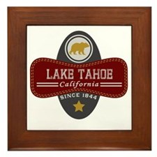 Lake Tahoe Nature Marquis Framed Tile