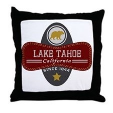 Lake Tahoe Nature Marquis Throw Pillow