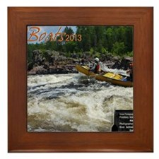 CBoats 2013 Calendar Cover Framed Tile