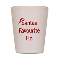 Santas Favourite Ho Shot Glass