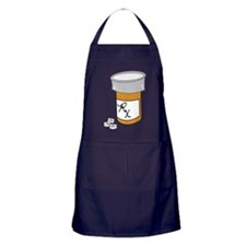 Pill Bottle Apron (dark)