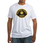 San Diego Sheriff Fitted T-Shirt
